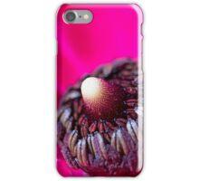 Inside Hot Pink Flower - macro iPhone Case/Skin