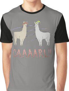 Llamas with Hats - Carl! Graphic T-Shirt