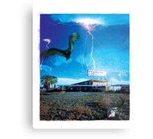 Lost Motel Metal Print