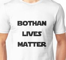 Bothan Lives Black, Transparent Unisex T-Shirt