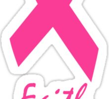 Breast Cancer Ribbon! Sticker