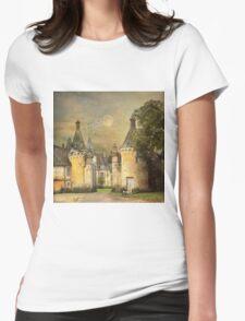 Chateau de la Pellonnière II Womens Fitted T-Shirt