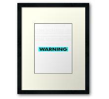 Legal secretarie Life Chose ME ! Framed Print