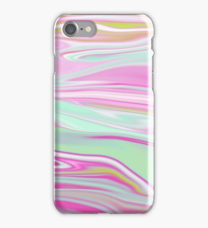 Abstract Marbling 10 iPhone Case/Skin