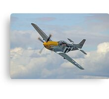 P51 Mustang Ferocious Frankie - Dunsfold 2014 Canvas Print