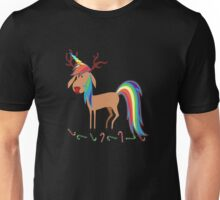 Unicorn Reindeer Christmas Xmas magical T-Shirt Unisex T-Shirt