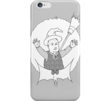 Witchy Bobby with transparent background. iPhone Case/Skin