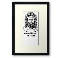 Beard of Zeus! Framed Print