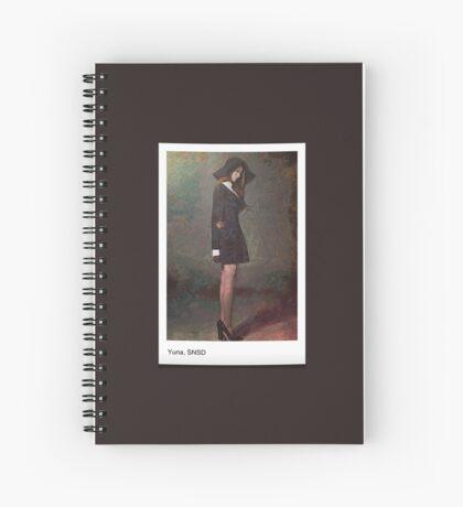 Yuna(윤아),SNSD(소녀시대), Kpop star, painting art Spiral Notebook
