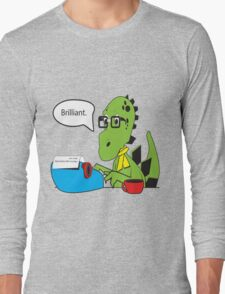 Hipsterasaurus Long Sleeve T-Shirt