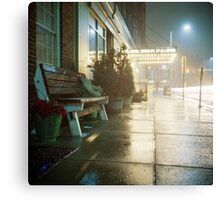 Night at the Hotel Canvas Print