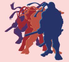 Teenage Mutant Ninja Silhouettes Kids Tee