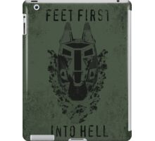 Feet First into Hell - Halo ODST iPad Case/Skin