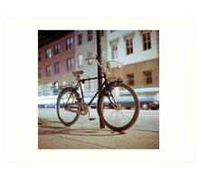 City Bicycle Art Print