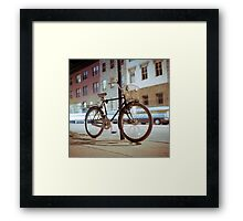 City Bicycle Framed Print