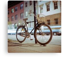 City Bicycle Canvas Print