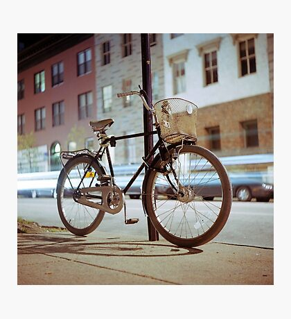 City Bicycle Photographic Print
