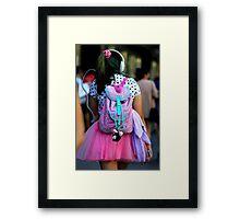 Barbie in Bourke Street Framed Print