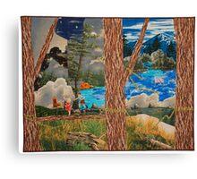 LOOK, DICK, LOOK, JANE Canvas Print
