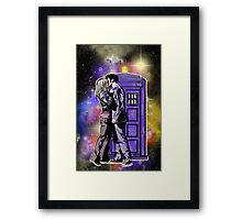 The Doctor With One Heart Framed Print