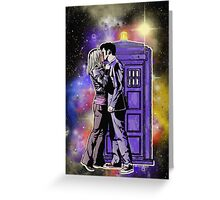 The Doctor With One Heart Greeting Card