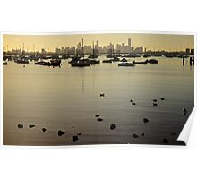 Williamstown Bay Poster