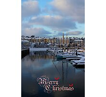 Christmas In Bangor Photographic Print