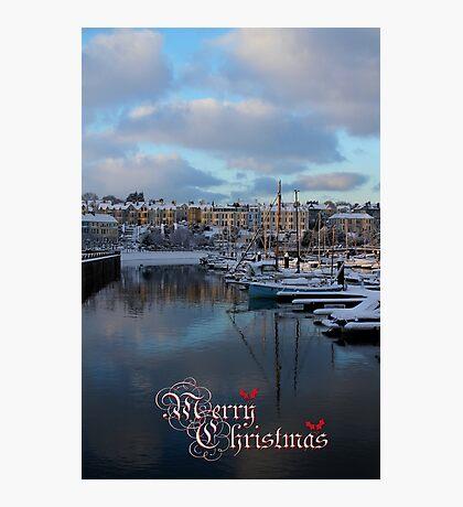 Christmas In Bangor Photographic Print