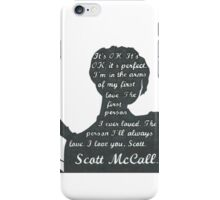 Allison Quote- Number Two (Part Two) In a Series iPhone Case/Skin