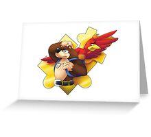 Banjo and Kazooie Greeting Card