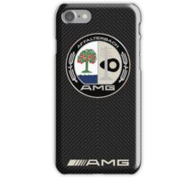 AMG carbon fiber edition case iPhone Case/Skin