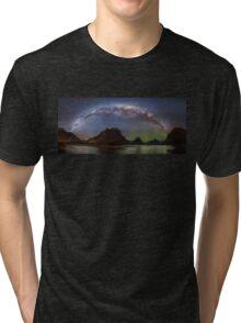 Milford Sound at NIght Tri-blend T-Shirt
