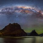 Milford Sound at NIght by Rob Dickinson
