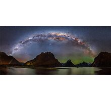 Milford Sound at NIght Photographic Print