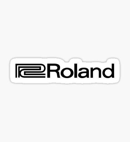 Roland. Sticker
