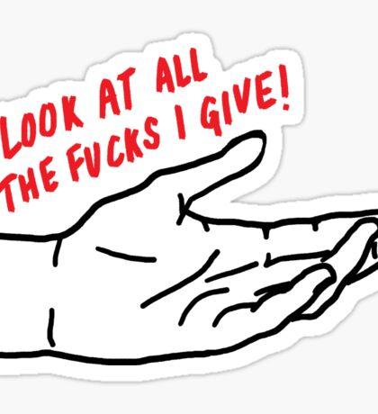 I Don't Care   Trendy/Hipster/Tumblr Meme Sticker