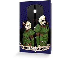 Cherno Alpha Crew  Greeting Card