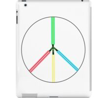 World Peace Light Swords iPad Case/Skin