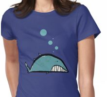 the bottom of the sea Womens Fitted T-Shirt