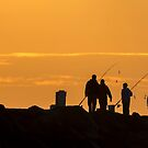 Fishing the dawn by ThisMoment
