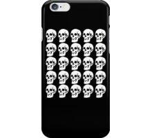 White Skulls iPhone Case/Skin
