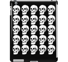 White Skulls iPad Case/Skin