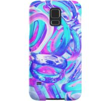 abstract colorful rings as background Samsung Galaxy Case/Skin