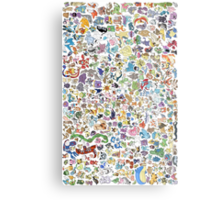 pokemons Metal Print