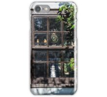 Old Cottage Window Display iPhone Case/Skin