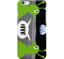 Earth rising impressing Frank and Ingrid iPhone Case/Skin