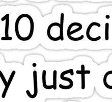 IILTTDIRJDWTHI Sticker