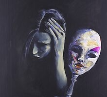 The Mask She Hides Behind by RichesRoad