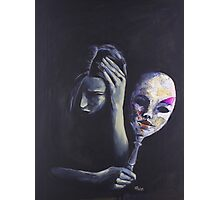 The Mask She Hides Behind Photographic Print