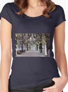 Narnia Corridor Women's Fitted Scoop T-Shirt
